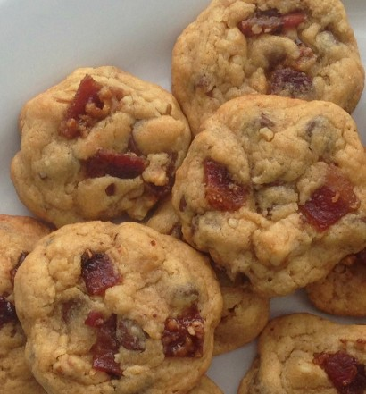Bacon Cookies Close Up