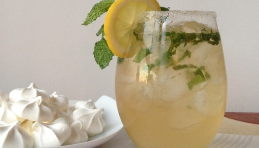 Cool Off With A Lemon Ginger Splash